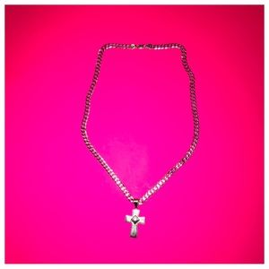 Other - light weight 20 inc necklace cross pendant